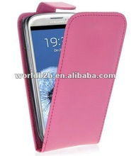 PINK PU Leather Case For Samsung Galaxy S3 SIII i9300
