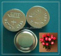 wholesale AG LR series alkaline button cells for stage glow stick or toys