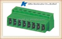 PCB male female terminal blocks 5.0mm 5.08mm pitch board to board wire connectors