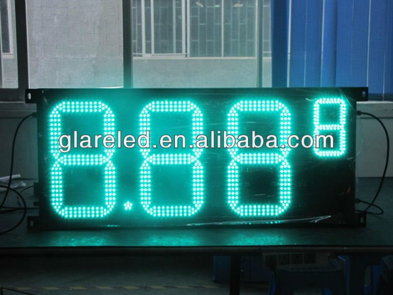 New Invention!!! 8.88 9 Led Digital Sign Best Selling Outdoor Use Waterproof IP65