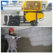 automatic wall cement wet sand plastering spray machine | wall plastering machine | cement sand plaster machine