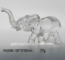 cheap wholesale new style acrylic crystal elephant home table decoration