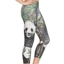 Hot Selling High Quality Zoo Printed Sexy Girls In Yoga Pants