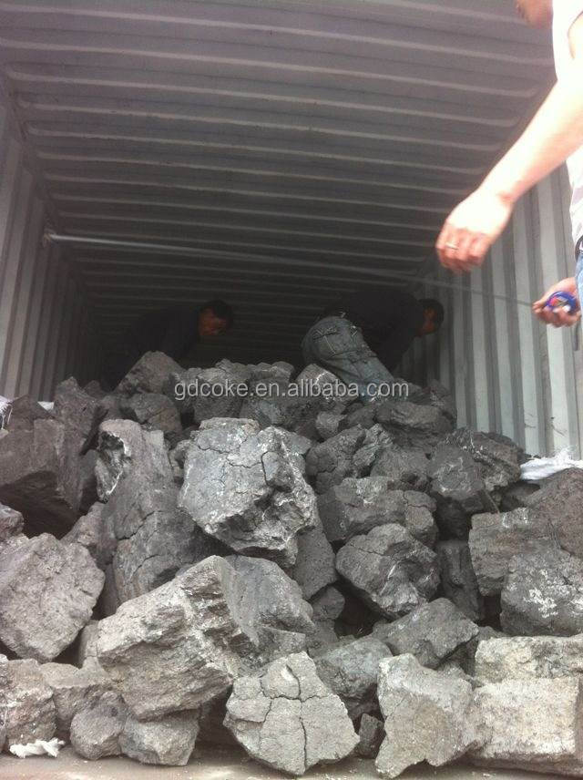 200-400mm Big size Foundry coke/Met coke FC86% used for copper foundry plant as fuel