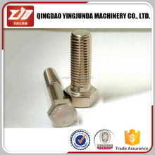 Adjustable stainless steel bolts and nuts