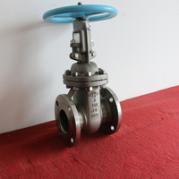 Double Flanged Industrial Cast Steel Gate Valve