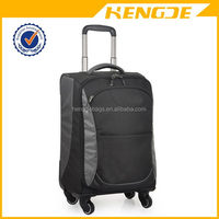 Modern branded hand wheeled cabin luggage