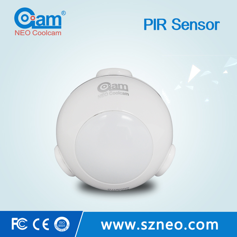 Z wave 868.42mhz wifi long range pir motion sensor module with ip camera for smart home security alarm systems