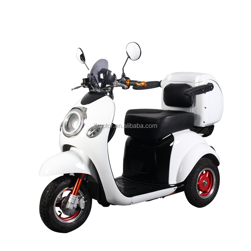 Three Wheel Motor Tricycle Electric Vehicles for Disabled