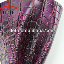 crocodile bag leather furniture crocodile pu leather faux crocodile skin