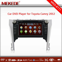 New 2014 2 Din Car dvd player for Toyota Camry> 2012 with Built-in GPS,Bluetooth,MP3,USB,SD card,radio,tv 10 EQ band
