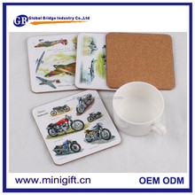 China manufacturer wholesale Custom cork coaster cheap cardboard drink coasters
