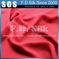Hellosilk factory promotion silk georgette velvet fabric in stock