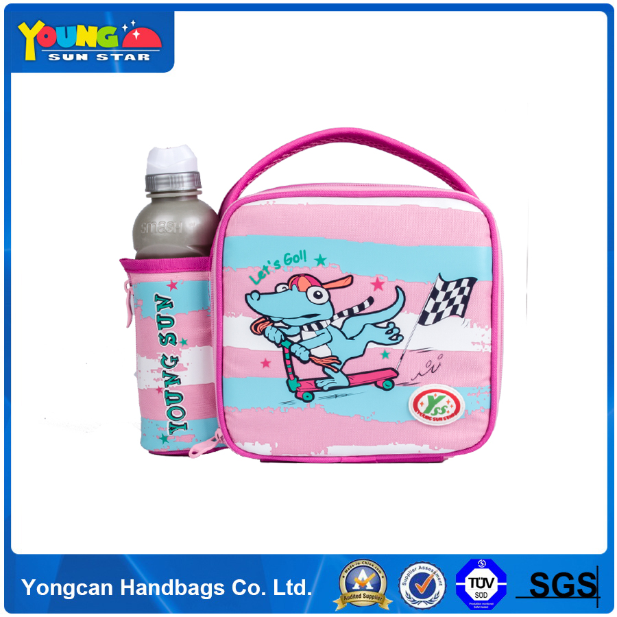 Korean style insulated cooler lunch bags for kids