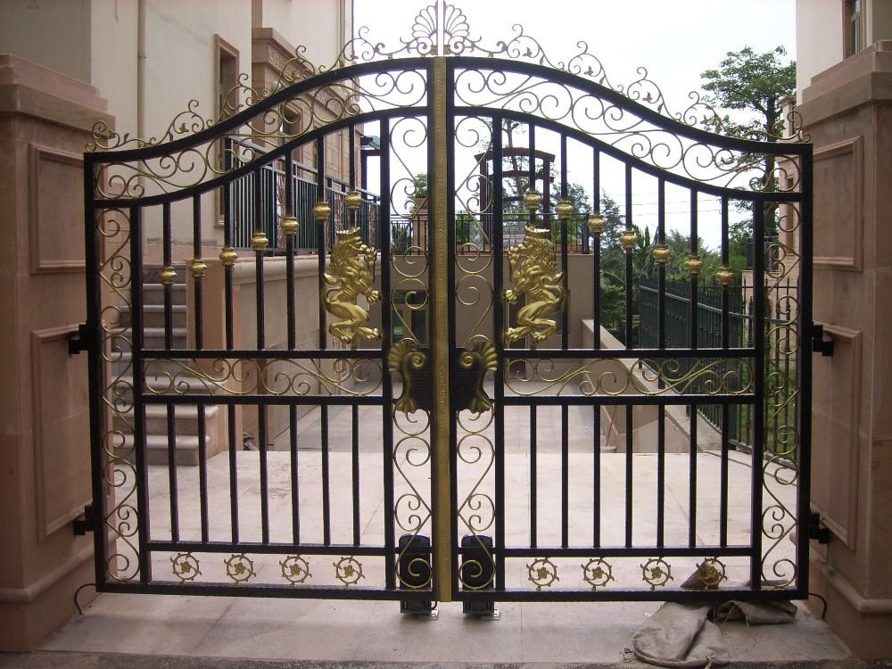 Wrought iron door main gate grill design buy