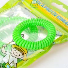 Newest selling environmental portable bracelets for mosquito repellent