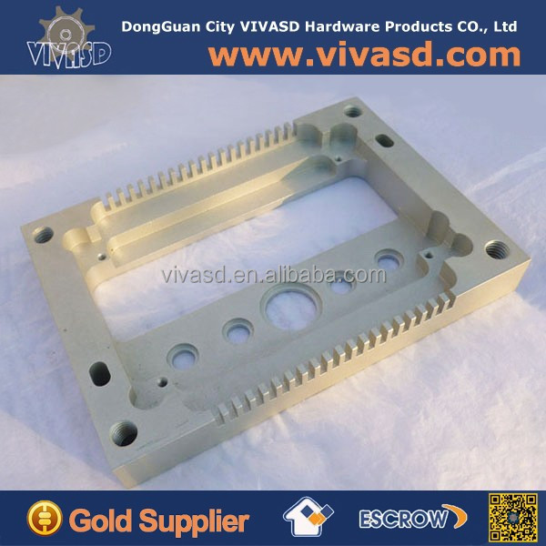 Customized Aluminum precision plate for cnc machining industry