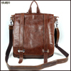 Top selling new casual cowhide backpack leather for women