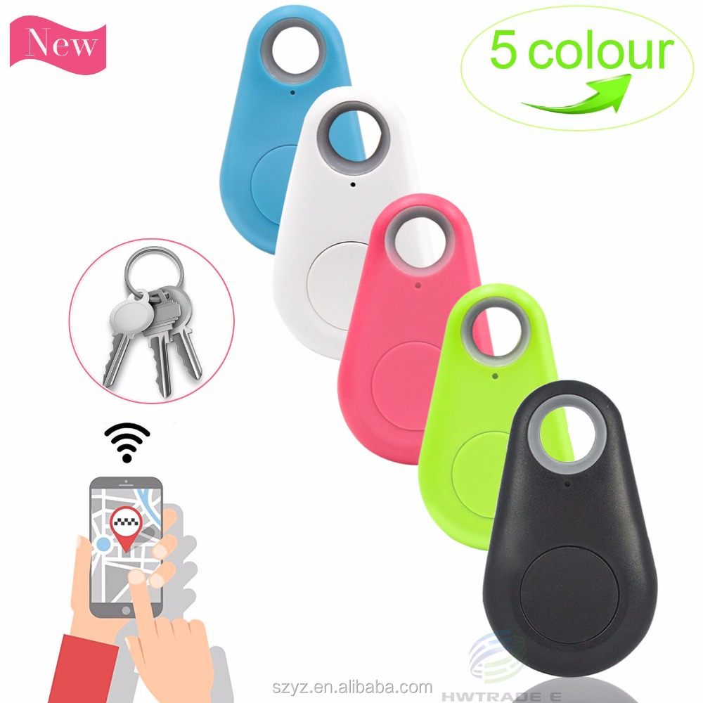 Anti-lost smart ABS material RF BT 4.0 wireless ibeacon electronic key finder with security alarm reminder