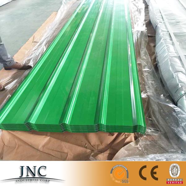 Kleur voorgelakt gegolfd gegalvaniseerd galvalume staal plaatwerk alu zink gi gl dakplaat prijs - Kleur schilderij zink ...