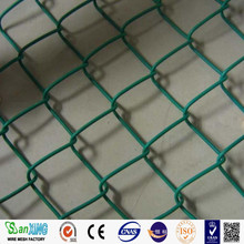 2016 hot sale cheap electric galvanized metal heavy garden used chain link fence prices for sale factory