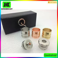 Latest huge vapor quicksilver caps quicksilver atomizer