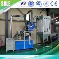 HDPE LDPE PP PVC Plastic Pulverizer Machine for Powder Milling
