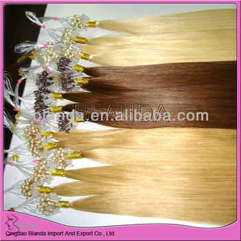 2013 hot products micro beads hair extension