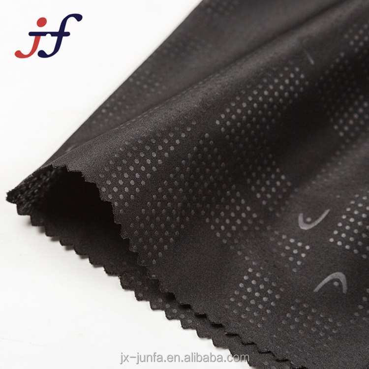 100% Polyester 210T Embossed Pongee Lining Fabric for Garment