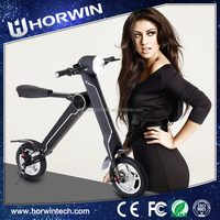 Battery Powered electric Foldable motorcycle three wheel electric scooter