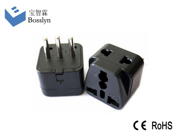 Excellent quality top sell italy travel power plug adapter adaptor