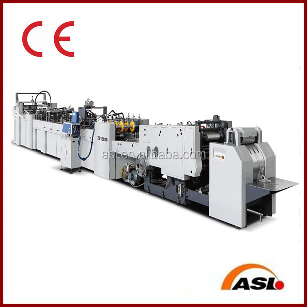Automatic Shopping Bag Making Machine Paper Bag Making Machine
