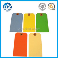 Different oem design colorful printed paper hang tags