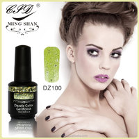No100 dazzle color gel nail uv polish MingShan manicure 176 color