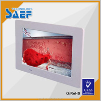 7 inch 1024*600 Digital photo frame advertising tablets that support usb