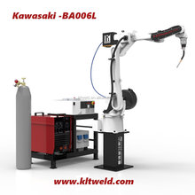 Robotic Arm 6 axis CO2 MIG MAG TIG with Servo Motor, Kawasaki BA006L Welding Robot