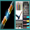 RVV power cable LSZH Insulated and Sheathed electrical wire cable 300/500V