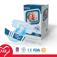 New desigined big size ultra thick medicare high absorbent sexy disposable baby style diaper for adult