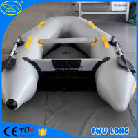China best quality pvc welding machine inflatable pontoon boat with outboard motor china