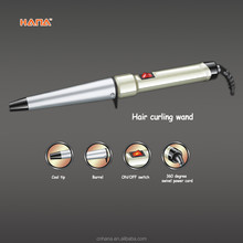 LED tourmaline ceramic simply cheap taper curling wand iron