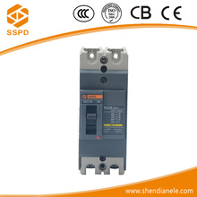 Best brand CEZC EZCC china reliable quality moulded case disjuntor double pole isolator switch 2p 100amp circuit breakers