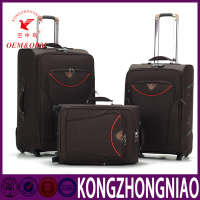 High quality hot-sale fashion trolley case/wheeled luggage,newest style Protective Cover Luggage