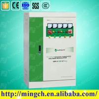 three phase 200KVA 380V full automatic compensated avr voltage regulator/stabilizer