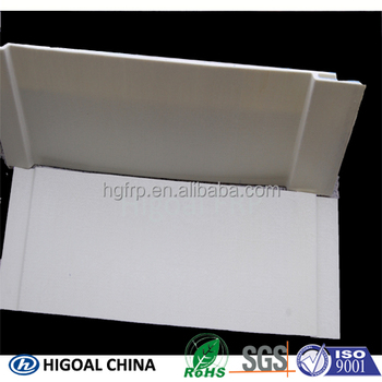aging and yellowness resistant FRP pultruded panel for subway tunnel