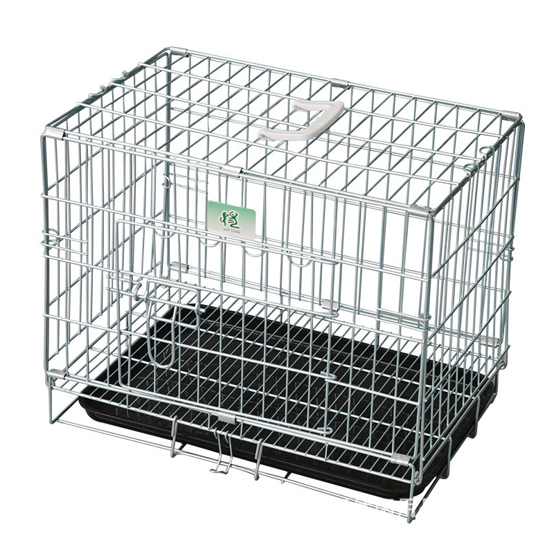 Factory Galvanized Comfortable foldable dog crates