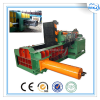 (TFKJ) Y81T-1250 Hand valve horizontal metal compressor old baler hydraulic scrap packing machine CE
