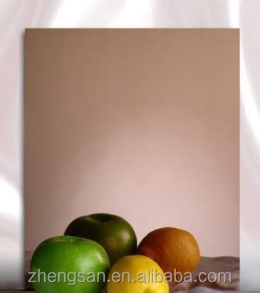 AISI 304 Rose Gold Hairline Golden Stainless Steel Sheet with Price Per plate
