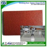 Car carpets leather with good quality