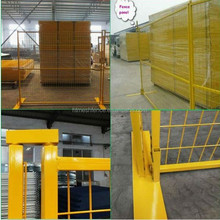 hot galvanzied anti-climb portable temporary mobile-guard fencing panel