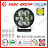 Best Factory Price!!NSSC Lifetime Warranty new 70w car led tuning light/led work bench light led driving lights 70w